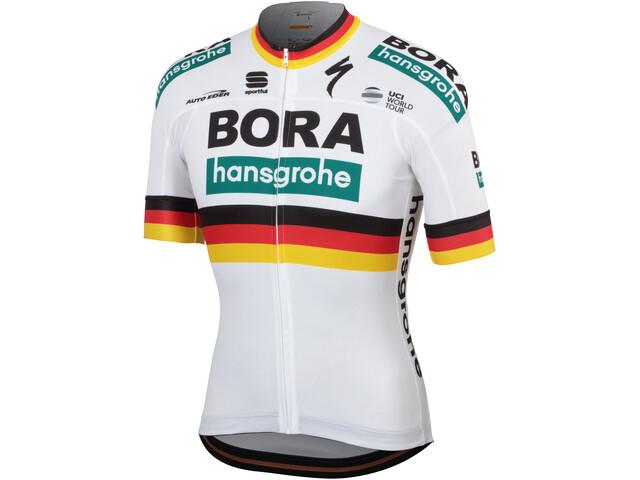 Sportful Team Bora-HG Bodyfit Jersey korte mouwen Heren, german champion